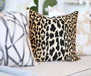 Bianca Leopard Throw Pillow Giftagram